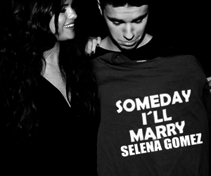jelena, love, and justin bieber image