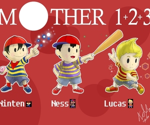 lucas, ness, and mother 3 image