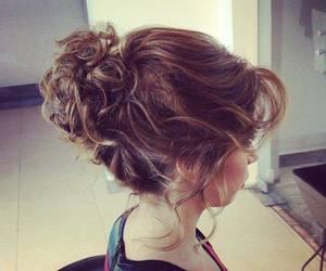 beautiful, girl, and hair image
