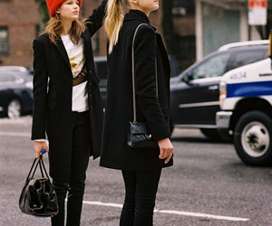 model, style, and street style image