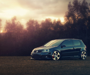 black, golf, and gti image