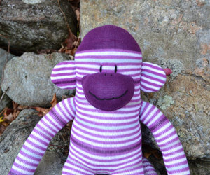 sockmonkey, sock monkey doll, and sock monkey plush image