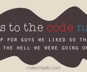 code, guys, and names image