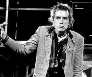punk, johnny rotten, and sex pistols image