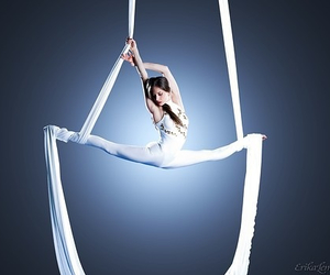 amazing, split, and aerial dance image
