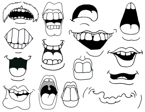 Image about smile in dibujos by florencia on we heart it voltagebd Image collections