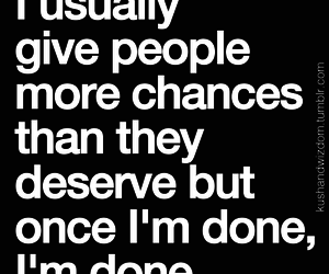 chances, quotes, and done image