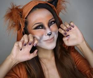 fox and girl image