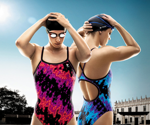 goggles, pool, and sport image