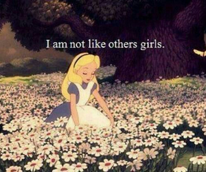 alice in wonderland, different, and flowers image