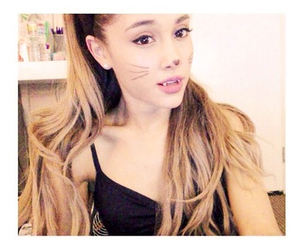 ariana grande, cat, and Halloween image