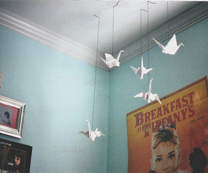 room, vintage, and origami image