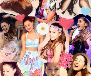 ariana grande, Collage, and Queen image