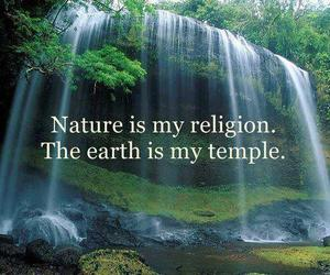 nature, quotes, and religion image
