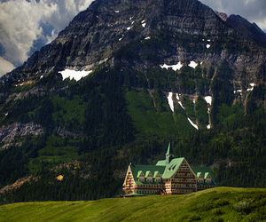 nature, canada, and mountains image