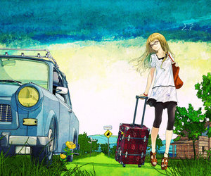 anime and travel image