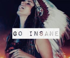 insane, lana del rey, and go insane image