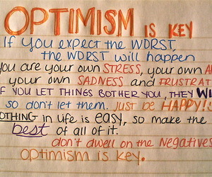 optimism, quote, and key image