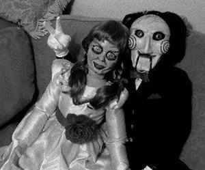 saw, creepy, and anabelle image