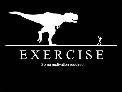 dinosaur, exercise, and motivation image