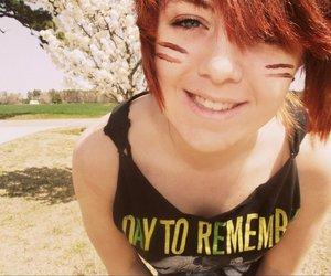 indian, red hair, and a day to remember image
