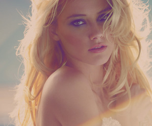 amber heard, perfect, and blonde image