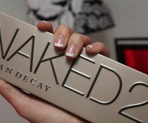 cosmetics, naked, and girl image