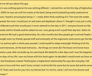 juliet, love hurts, and romeo image