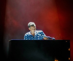 brandon flowers, piano, and the killers image