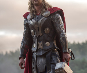 thor, Marvel, and chris hemsworth image