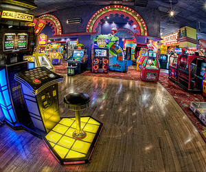 photography, arcade, and games image