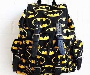batman, bag, and black image