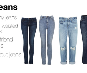 boyfriend, high waisted, and jeans image