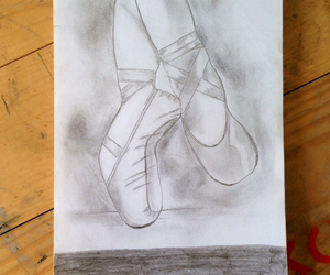 b&w, ballet, and clasic image