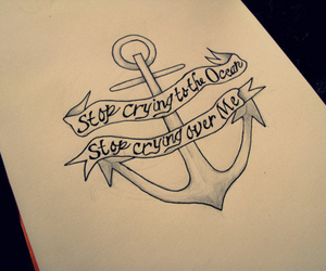 anchor, art, and tattoo image
