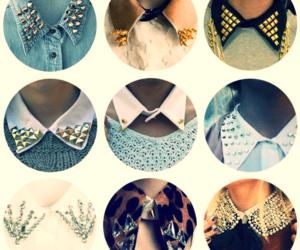 fashion, collar, and studs image