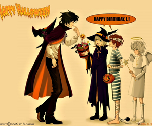 death note, lawliet, and Halloween image
