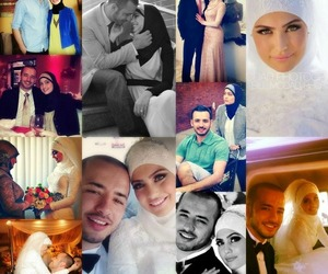 bride, love, and muslimcouple image