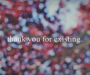 text, quote, and thank you image