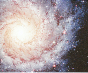 galaxy, universe, and space image
