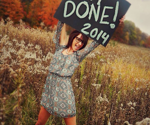 done, senior, and 2014 image
