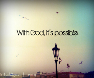god, possible, and sky image