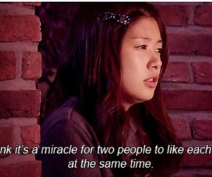 love, miracle, and quotes image