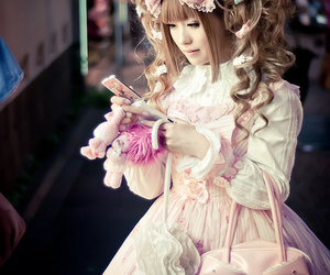 angelic pretty, girly, and girl image