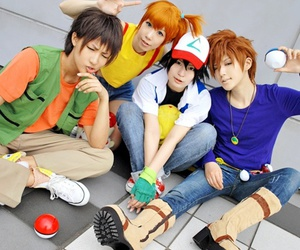 pokemon and cosplay image