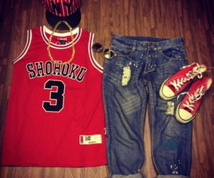 Basketball, shoes, and sports image
