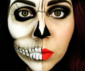art and face painting image