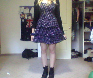 australia, polka dots, and boots image