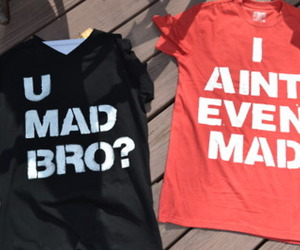shirt, bro, and lol image