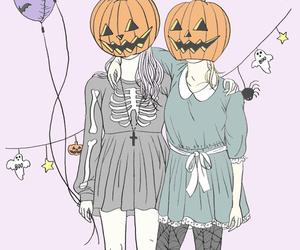 Halloween, pumpkin, and october image